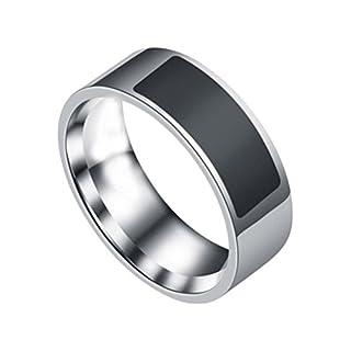 Amcool NFC wasserdichte multifunktionale intelligente Ring Smart Watch Finger Digital Ring (6)