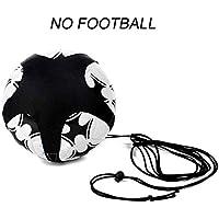 JUN GUANG Entrenador de Kick de fútbol, Equipo de Entrenamiento de fútbol para niños, Ayuda de Entrenamiento de fútbol, Control Ajustable cinturón de Cintura (Bola no incluida)