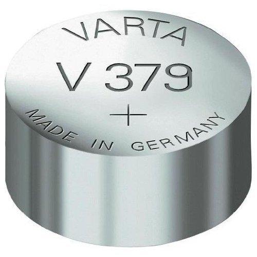 ACCUPOWER pile oxyde argent pour montres, V379 (SR63), 1,55 Volt