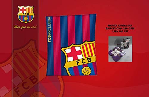 Asditex Manta Coralina F.C Barcelona 130x160 - Manta