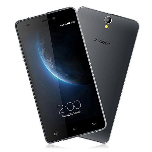 """Ofertas movil KOOBEE Smartphone de 5"""" HD negro"""
