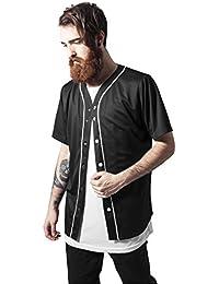 Urban Classics TB1237 Herren T-Shirt Baseball Mesh Jersey