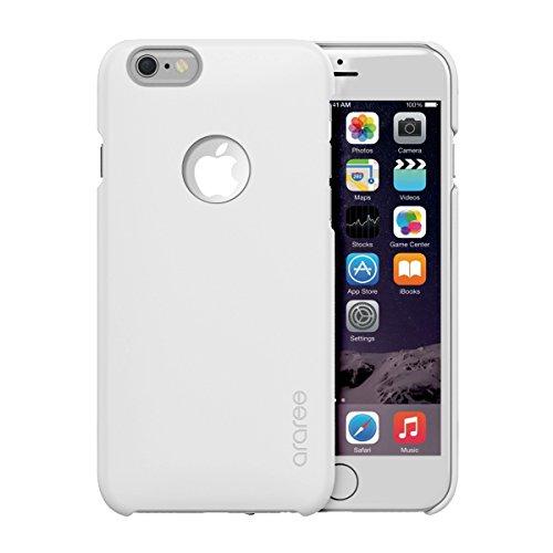 iPhone 6S Schutzhülle, araree® [Viewty] Ultra Slim Fit Schutzhülle Hard Case Flip Cover für Apple (2015) weiß
