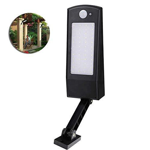 HLWAWA Einstellbare Induktions-Wandleuchte, Moderne kreative tragbare Mini-Wandleuchte, einfache Art hohe Helligkeit LED Solar Garten Licht Garten