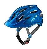 Alpina Sport Kinder Jugend Fahrradhelm Carapax JR. Blue 51-56 cm