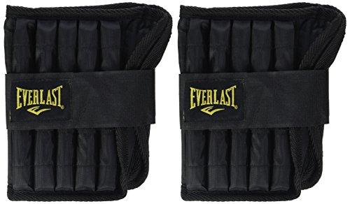 Everlast Gewichtsmanschetten Adjustable Ankle Weights-Black 5lb each (10lb pair 4.5kgs)