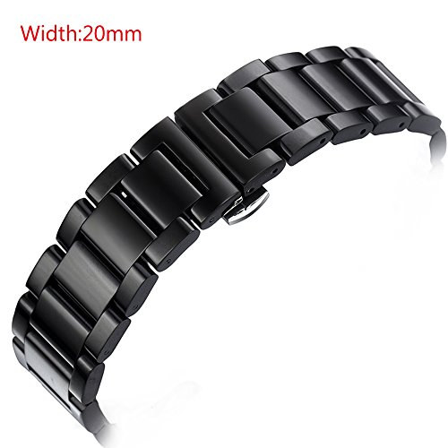 gooq-stainless-steel-20mm-push-button-hidden-clasp-watch-band-for-moto-360-2nd-gen-male-42mmpebble-t