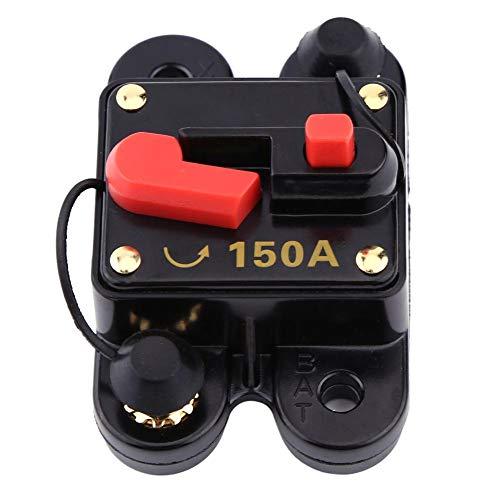 300a Car Audio (Leitungsschutzschalter Car Audio DC12-24V Leistungsschalter für Auto Marine Boat Bike Stereo Audio Reset-Sicherung 80-300A(150A))