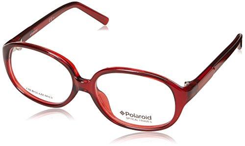 Polaroid Jungen Brillenfassung, PLDD810, Rot, PLDD810