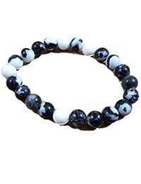 Rainbow Moonstone Bracelet, Size 8MM Negative Energy Cleaning Bracelet , Men's, Women's Bracelet