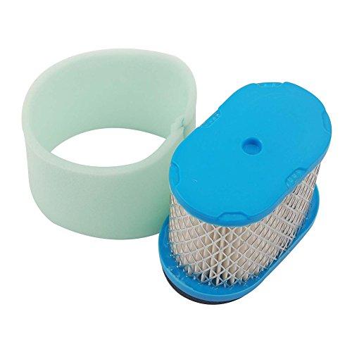 Beehive Filtre Aftermarket Air & Pre Filtre Cleaner for Briggs & Stratton 498596 690610 697029 5059h 4207 30–033 John Deere m147431 + 273356S Filtre Pre de Cleaner New