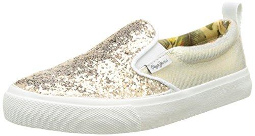 Pepe Jeans Traveler Glitter, Sneakers Basses Fille