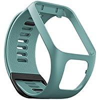TomTom Bracelet pour Montre RUNNER 3, SPARK 3, RUNNER 2 & SPARK - Taille Large - Vert d'Eau
