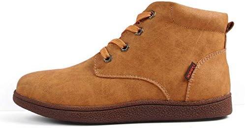 FHCGMX Stivali da Uomo di Alta qualità Stivali Stivali Stivali da Neve in Pelle Crosta di Alta qualità Scarpe Calde Scarpe Invernali con Lacci Plus Taglia 3846 B07KTYCSSC Parent | Terrific Value  | Costi Moderati  0f0ce3