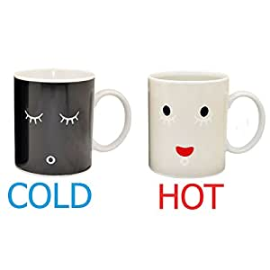 Color Good Thermo Changing Magic Morning Coffee Mug Sensitive R354AjLq