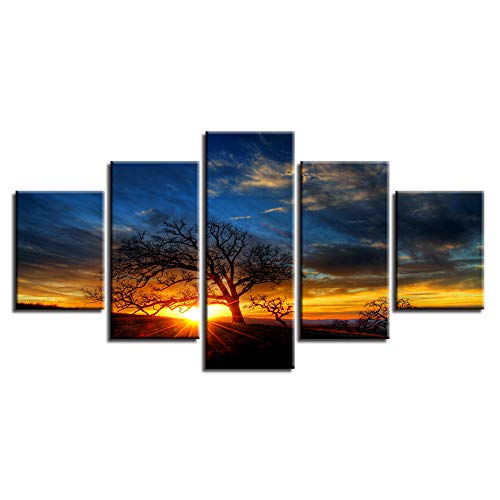 JSYC 5 lienzos Obras de Arte Modernas Posters Canvas Pictures Decor Wall...