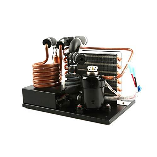 HEYG-Micro DC Aircon Flüssigkeitskühler-Modul DC48V 137~450W Kühlermodul Flüssigkeitskühlsystem , Tragbare E-Kupfer-Spule Flüssigkeitskühler R134A Kältemittel Miniatur-Wasserzyklus-Kühlung