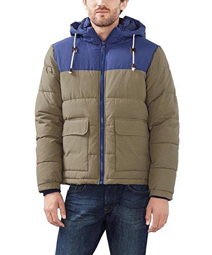 Esprit 106ee2g016, Blouson Homme Vert (dark Khaki 355)