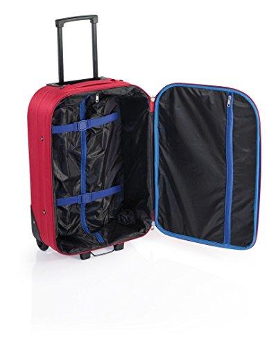 41fdE0wz2%2BL - Syna de John Travel, maleta de cabina 30 L - 55 cm - roja