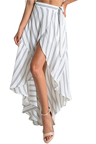Dokotoo-Womens-High-waisted-Boho-Chiffon-Maxi-Skirt-Wrapped-Beach-Cover-up-Dress