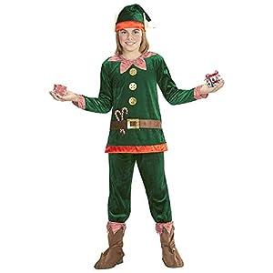 WIDMANN Niños Disfraz Elf de pequeño ayudante Papá Noel