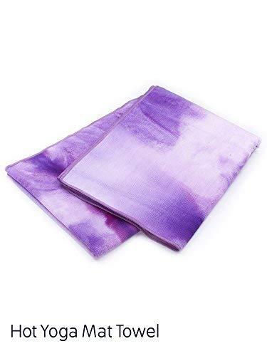 0eaefac0a68d apana Fitness Hot Yoga Tie Dye Matte Handtuch (siehe mehr Farben und  Designs), Petunie