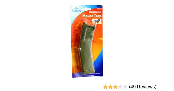 Upgrow Humane Mouse Trap 1, Brown Rodent Trap Mice Traps Humane Mouse Traps No Kill Mole Control Catch and Release Trap