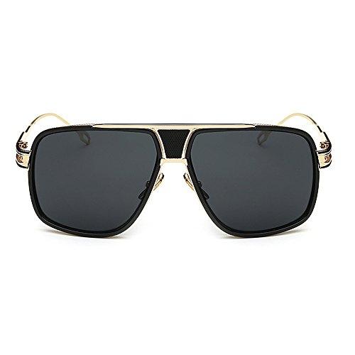 Personality Male Men Luxuxy Brand Sunglasses Women 2016 Sun Glasses Female Flat Top Fishing Eyewear Driving Glasses UV400