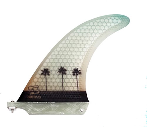 3DFINS MOONRAKER JUICER 177 Single Surfboard Finnen