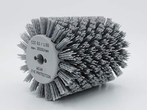 Nylonbürste kompatibel Bürstenschleifer Makita 9741 K60-120mm/1,4mm Korn 60