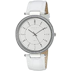 Johan Eric Women's JE1000B-04-001 Ballerup Analog Display Quartz White Watch