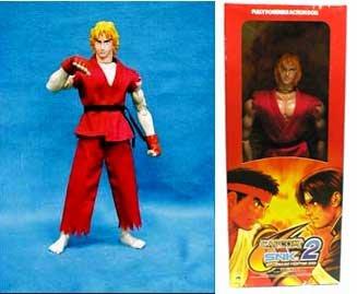 Street Fighter Capcom/Snk Ken 30,5cm Figur Rare
