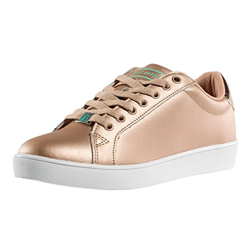 JR Just Scarpe Donna Rosa Rhyse Low chiaro Sneaker 7AxIAvwZ