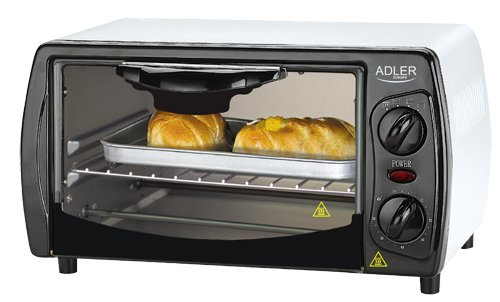 Mini Pizza Oven 9 Litre 1.000 Watt Timer