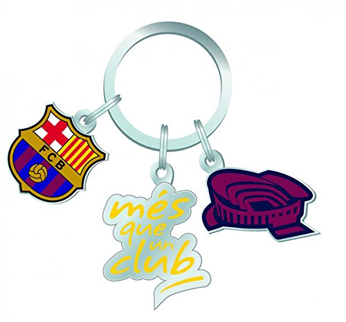 """'FC Barcelona Porte-clés Mes que un club """""""