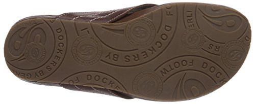Dockers By Gerli 36Br001-120930, Mules Adulte Mixte Marron (Reh 410)