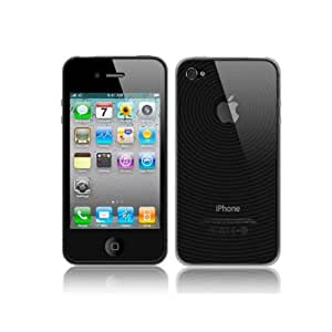 TeckNet iPhone 4G & 4GS TPU Case Cover + 2 X iPhone 4G/4GS Screen Protectors - Black