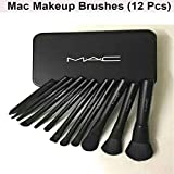 MAC COSMETIC MAKEUP BRUSH SET WITH NEW STORAGE BOX - LIMITED EDITION (12Pcs Set)