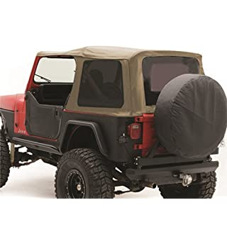 Smittybilt 9870217 Denim Spice OEM Replacement Soft Top with Door Skins and Tinted Windows by Smittybilt
