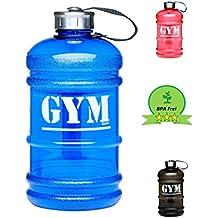 Botella para deporte | 2,2 litro recipiente colector | botella de bebida| Jarra