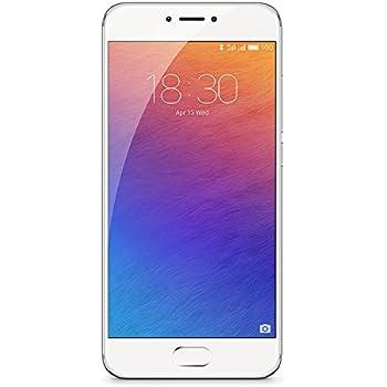 "Meizu Pro 6 - Smartphone de 5.2"" (Deca Core Helio X25 1.4 GHz, memoria interna de 32GB, 4 GB de RAM, HD 720p), Plateado/Blanco"
