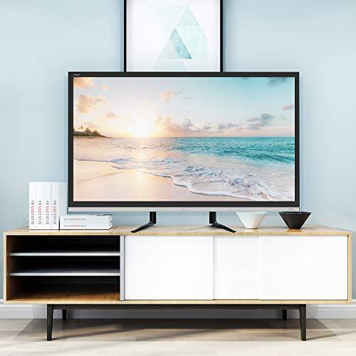 41fdMY k6CL - RFIVER Soporte TV Universal de Mesa para Television LCD LED OLED QLED de 27 a 65 Pulgadas UT3001X