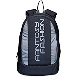 fantosy fashion black laptop backpack (28 L) (BP-005)