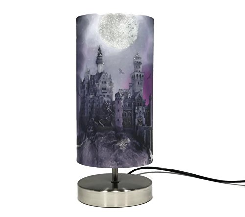Magical-Kingdom-Lamp-Light-Lampshade-Boys-Girls-Bedroom-Bedside-Table-Desk-Night-Light-Lamps-Glitter-Detail-Accessories-Gifts