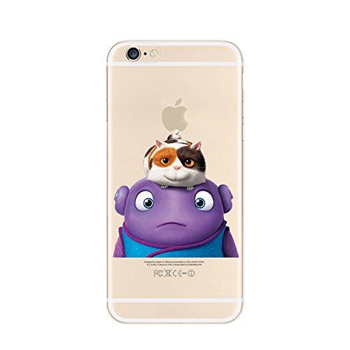 Ronney 's Ständer New Home Film Klar TPU Soft Case für Apple iPhone 5/5S 5C 6/6S & 6Plus/6+ S * Check Sonderangebot *, plastik, OH 1, IPHONE 5C OH & CAT
