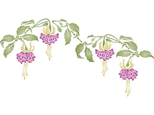 fucsia-de-flores-tamano-42-x-215-cm-reutilizable-de-pared-plantillas-para-pintar-mejor-calidad-ideas
