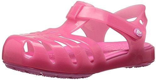 Crocs Mädchen Isabella Geschlossene Sandalen,Pink (Paradise Pink 6np), 24/25