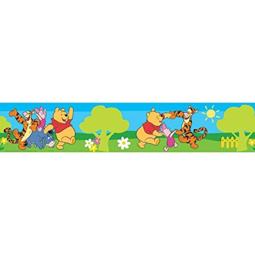 Disney Winnie the Pooh Small Green Wallpaper Border