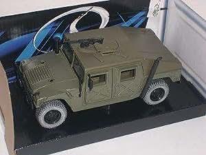 Hummer H1 H 1 GrÜn MilitÄr Military Green Metallmodell 1/24 Maisto Modellauto Modell Auto