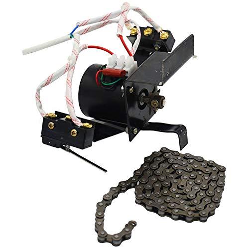 SODIAL 1 Satz Inkubator Automatische Ei Wende System 220 V 100 cm Kette Industrielle Drehen Dichten Eiern Motor Mit -
